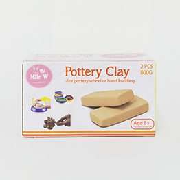 Pottery Clay 陶泥補充裝(800g)
