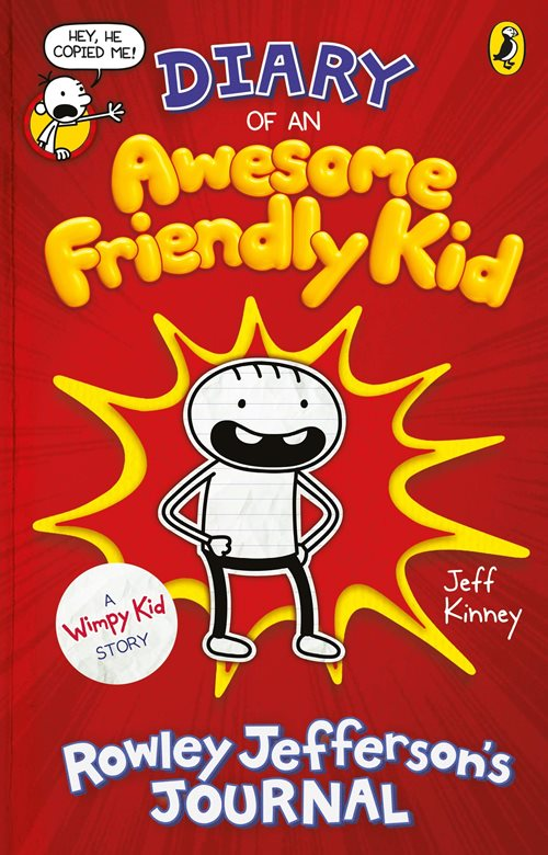 Diary of an Awesome Friendly Kid: Rowley Jefferson